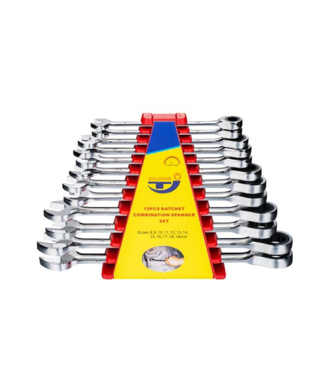 12 PCS RATCHET SPANNER SET  G12S12