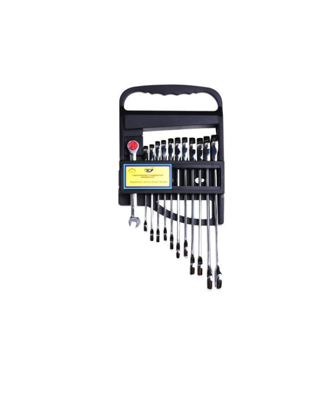 12 PCS RATCHET SPANNER SET  G12SS12B