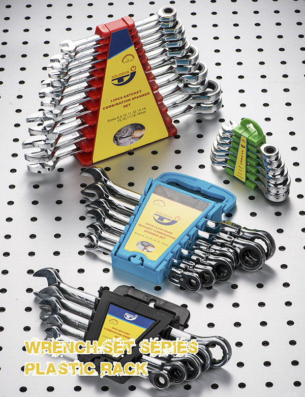 WRENCH SET SERIWS PLASTIC PACK